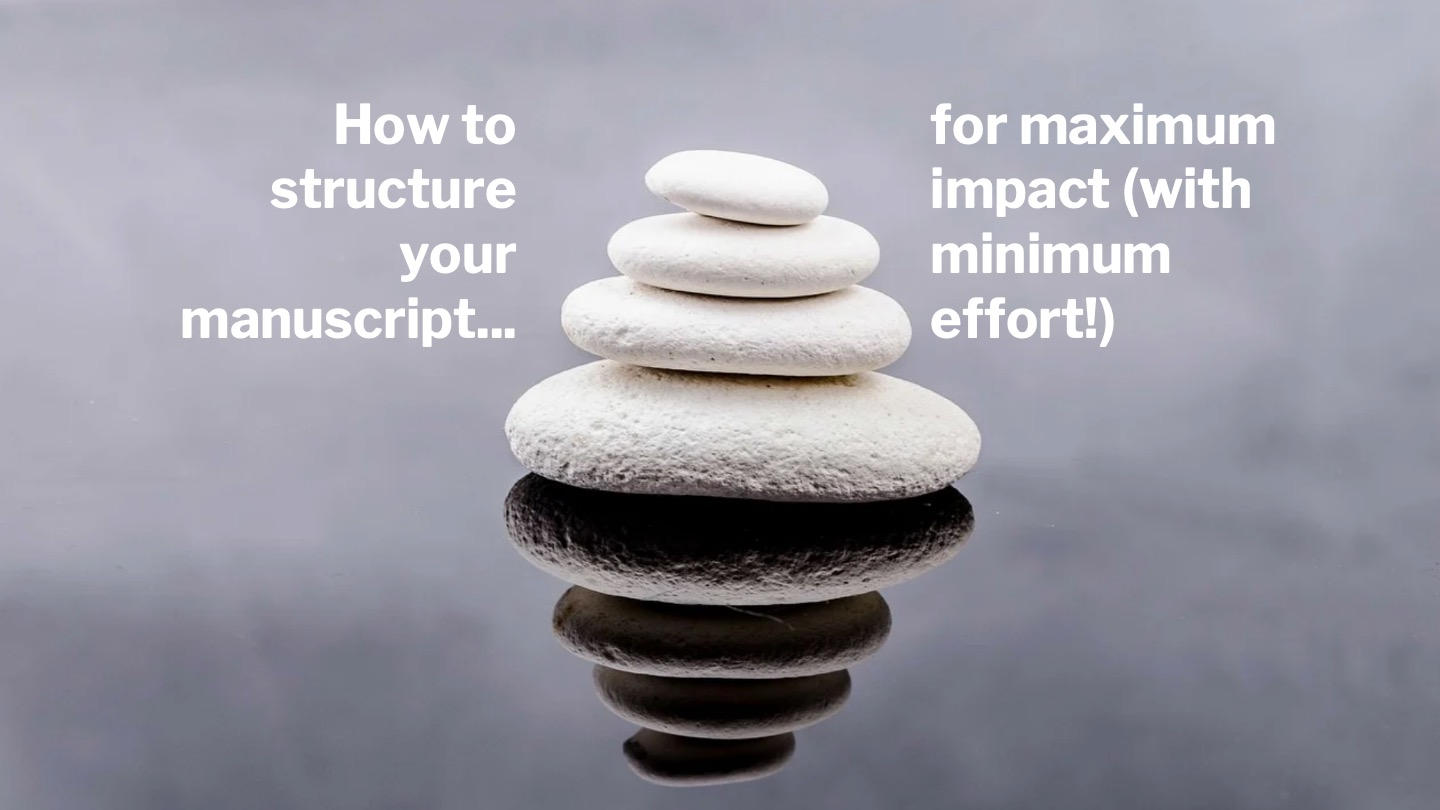 How to get maximum impact with minimum time and energy
