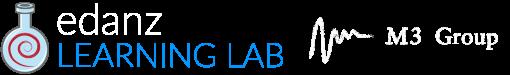 Edanz LearningLabLogo +M3 light on dark thinner 2020-03-01-2