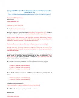 cover letter extended