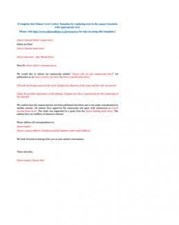 cover letter short